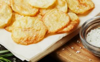 Как сделать чипсы за 5 минут