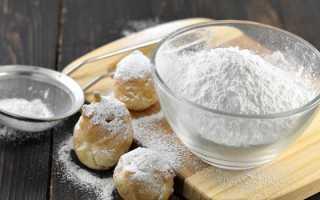 Как сделать сахарную пудру дома