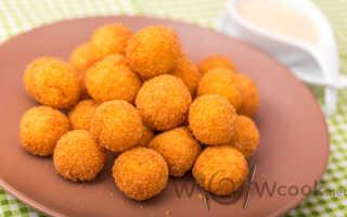 Как сделать картофельные шарики