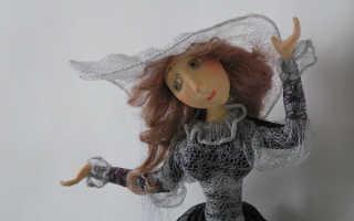 Как сделать куклу из папье маше