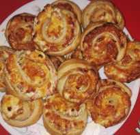 Как сделать слойку с ветчиной и сыром