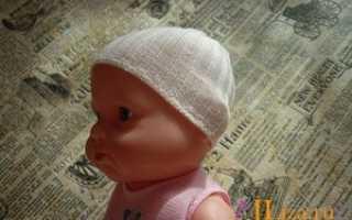 Как сделать шапку для куклы