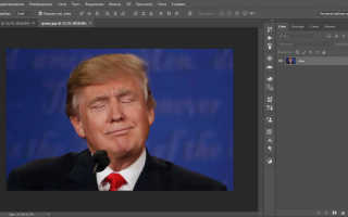 Как сделать смешное лицо в фотошопе