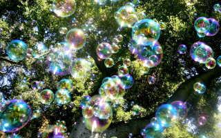 Как сделать шоу мыльных пузырей