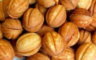 Как сделать тесто на орешки