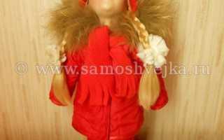 Как сделать куртку для куклы