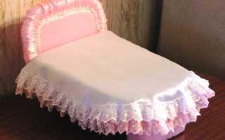 Как сделать кровать из картона