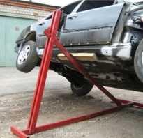 Как сделать подъемник для машины
