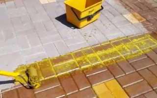 Как сделать цветной цементный раствор