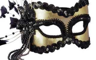 Как сделать маску из ткани