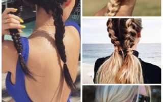 Что сделать с волосами на море