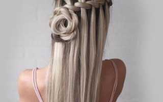 Как сделать прическу на длинные волосы
