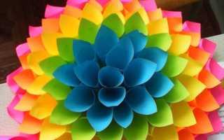 Как сделать кулек из бумаги для цветов