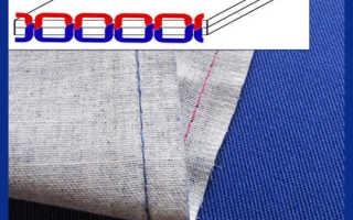 Как сделать ровную строчку на швейной машине