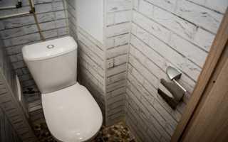 Как сделать туалет в квартире