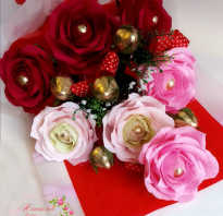 Как сделать розу из гофрированной