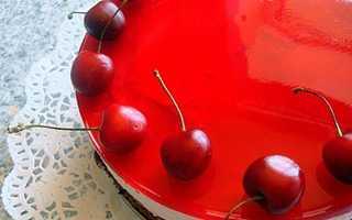 Как сделать прослойку желе для торта