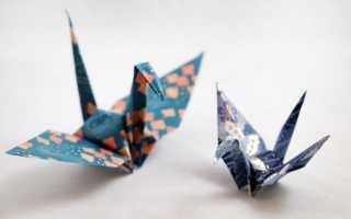 Как сделать легкое оригами из бумаги