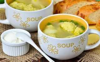 Как сделать тесто на галушки для супа