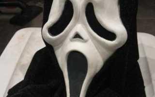 Как сделать маску крика