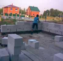 Как сделать фундамент под дом из пеноблоков