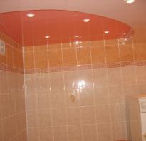 Как сделать подвесной потолок в ванной