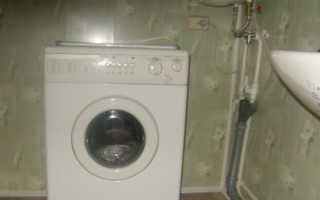 Как сделать слив для стиральной машины
