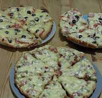 Как сделать пиццу за 5 минут