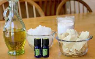 Как сделать крем для тела