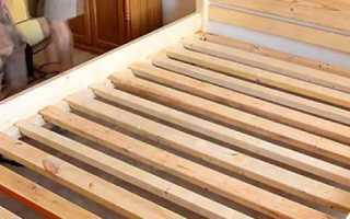 Как сделать кровать из дерева