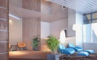 Как сделать реечный потолок