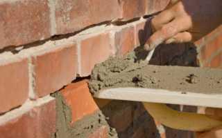 Как сделать фундамент из кирпича своими руками