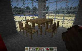Как сделать стол в майнкрафте