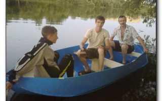 Как сделать пластиковую лодку своими руками видео