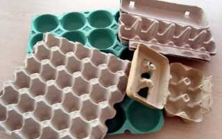 Что можно сделать из яичных коробок