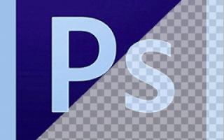 Как сделать полупрозрачный фон в фотошопе