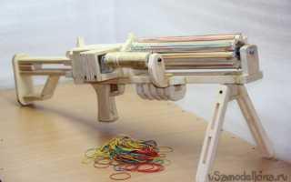 Как сделать резинкострел из дерева