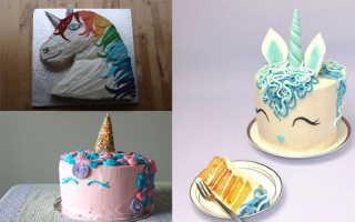 Как сделать торт единорог