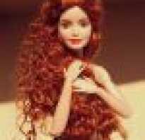 Как сделать кудри кукле
