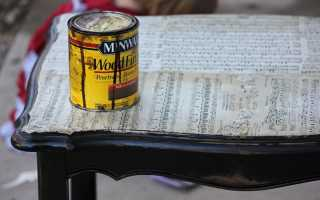 Что можно сделать из старого стола реставрация