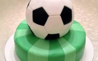 Как сделать торт мяч