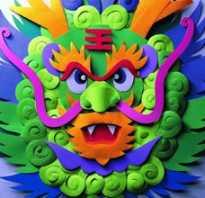Как сделать из бумаги маску дракона