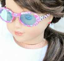 Как сделать очки для куклы