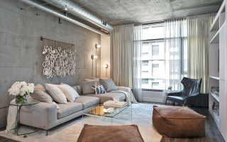 Как оформить интерьер в индустриальном стиле в типовой квартире: 5 главных советов