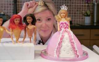 Как сделать торт куклу