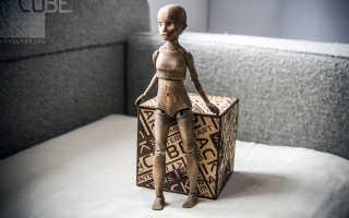 Как сделать куклу из дерева